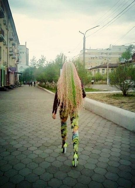Strangely Dressed People from Belarus [photos]