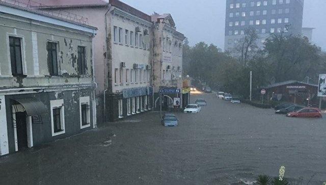 Photos and Videos of Flood in Krasnodar Region, Russia