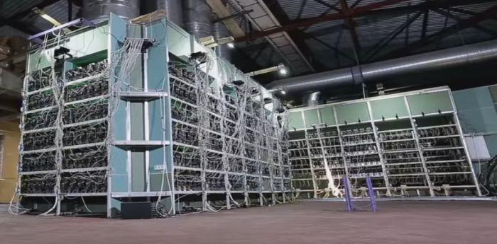 Russian Biggest Bitcoin Mining Farm