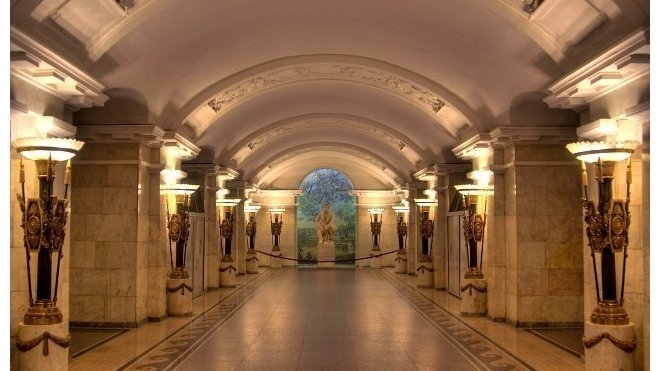 Most Beautiful Subway Stations of St.Petersburg [11 photos]