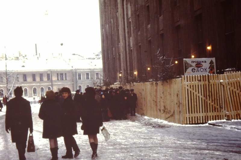 Travel Blog of Holland Man to Winter Leningrad in Year 1969