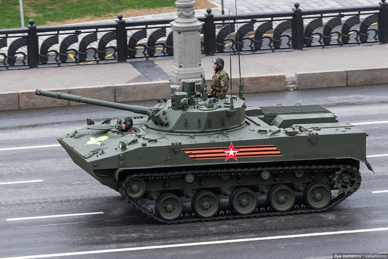 Victory Day in Moscow Russia Today