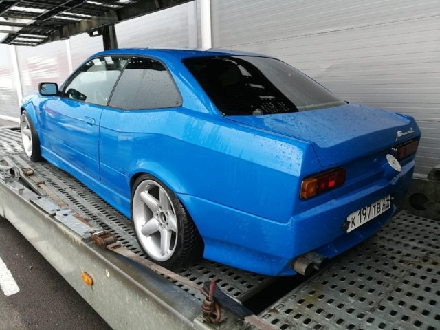 BMW 3 Turned into Moskvitch Car