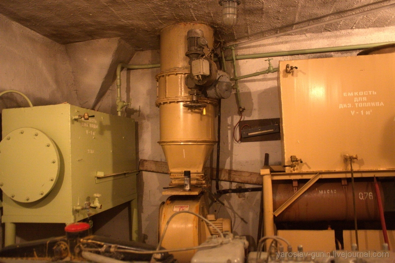 Inside Russian nuclear shelter