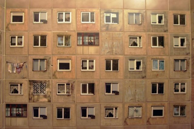 Exotic Russian Tiles with Old Soviet House Windows [photos]