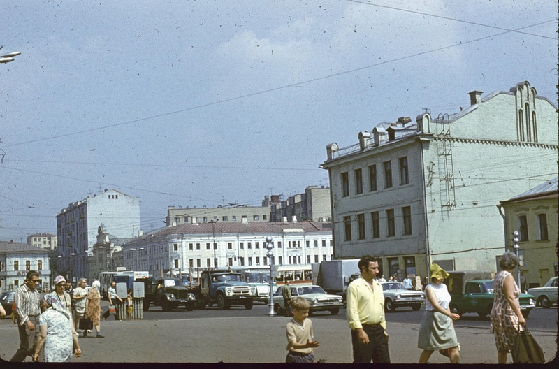 Vintage Photos of the Moscow made in 1970s