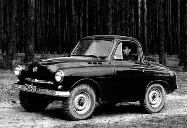 Vintage Soviet Off-road Car M-73 Ukrainets [8 photo]