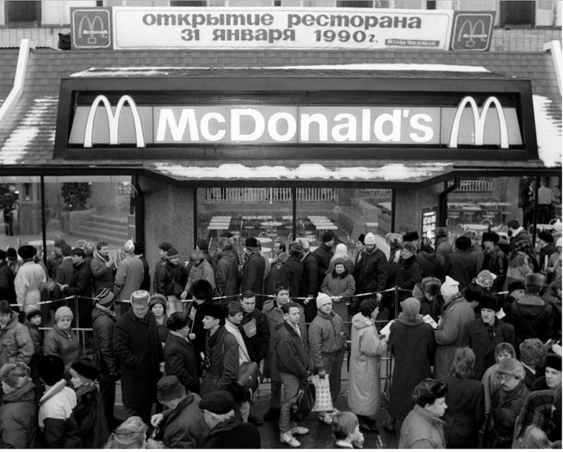 Lines in Soviet Union
