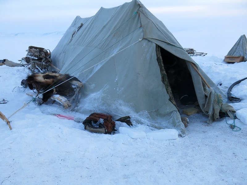 How Chukchi people live in winter