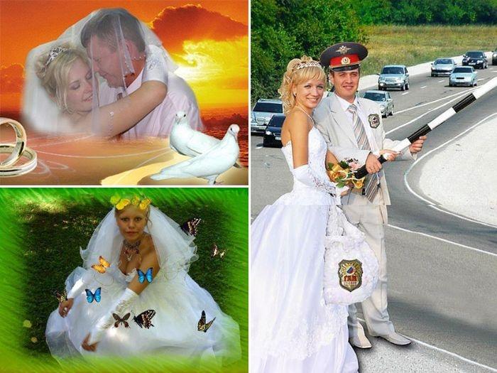 Weird Russian Wedding Photoshops