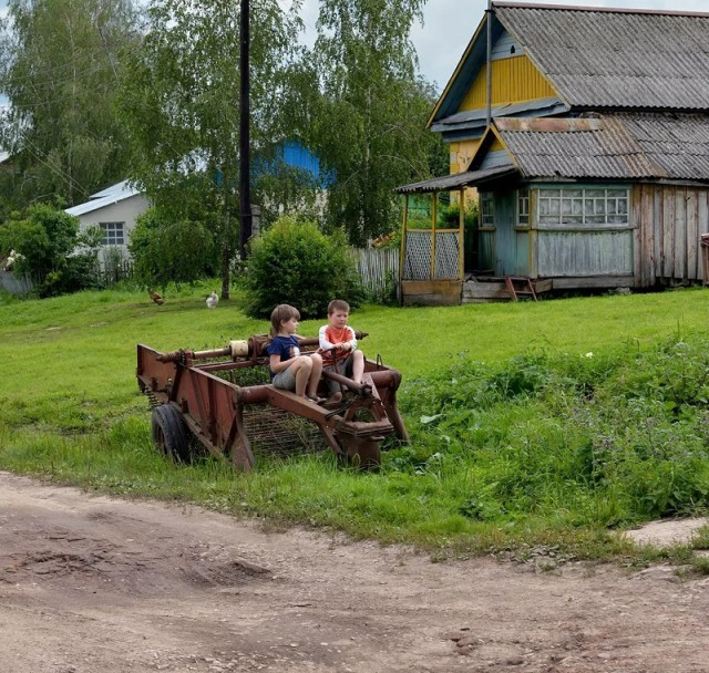 Summer photos from Russian village [20 photos]
