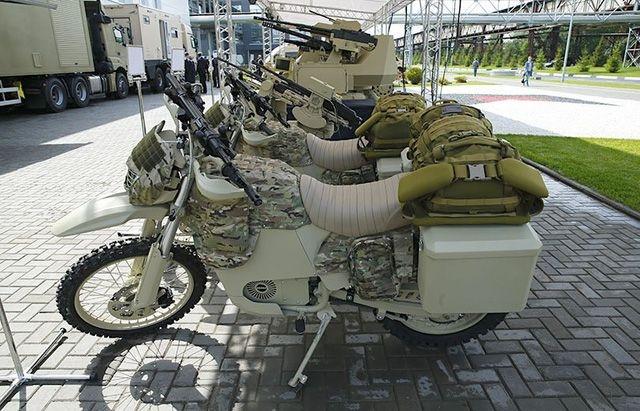 Kalashnikov Electric Motorbikes