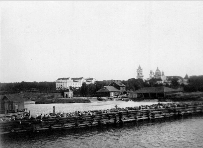 Russian monastery in 1896