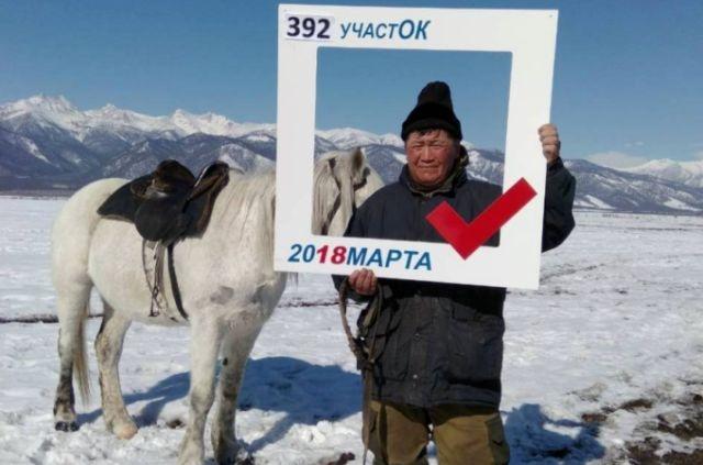 Weird Today's Russian Presidential Elections Photos 2018 [photos]