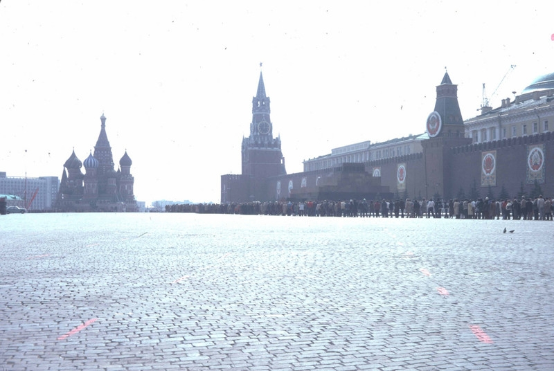 Two days in Moscow in 1982