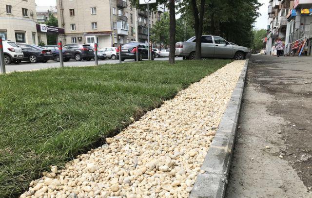 Man Betters Public Lawn [photos]