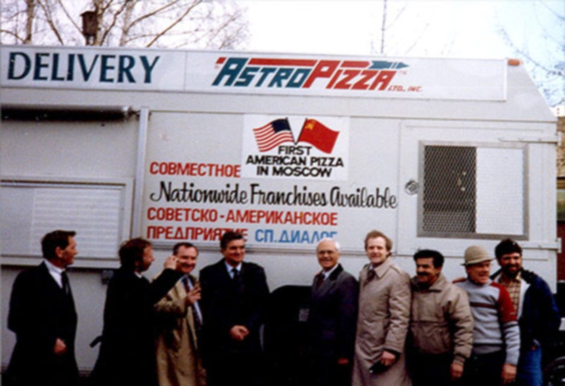 First American pizzeria in USSR