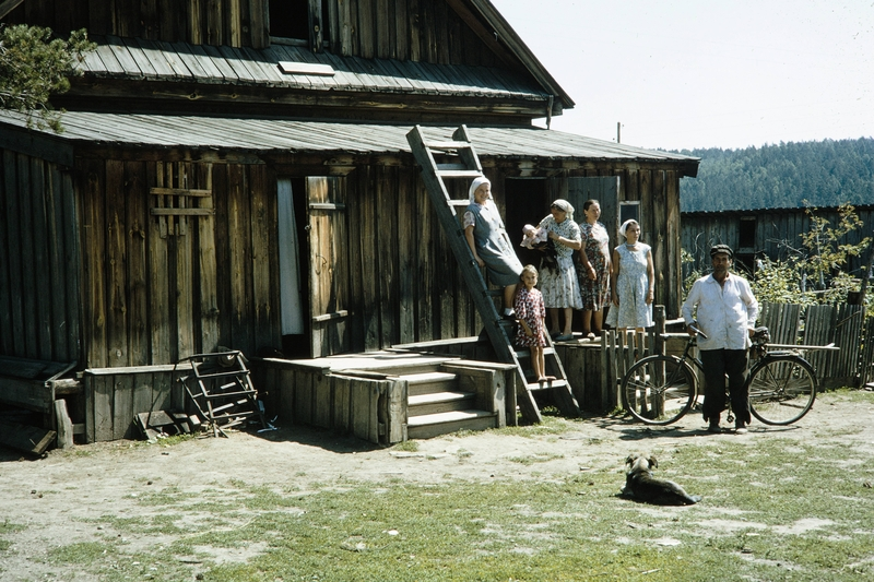 American Tourist at the Baikal Lake, USSR in 1964 [photos]