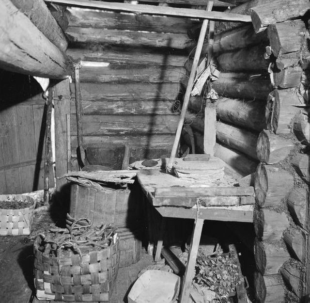 Typical Karelian Village House in 1940s [photos]