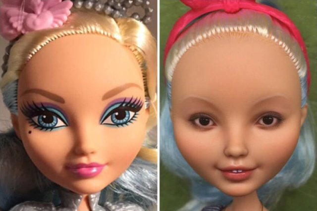 Ukrainian Artist Restores Old Dolls [22 photos]