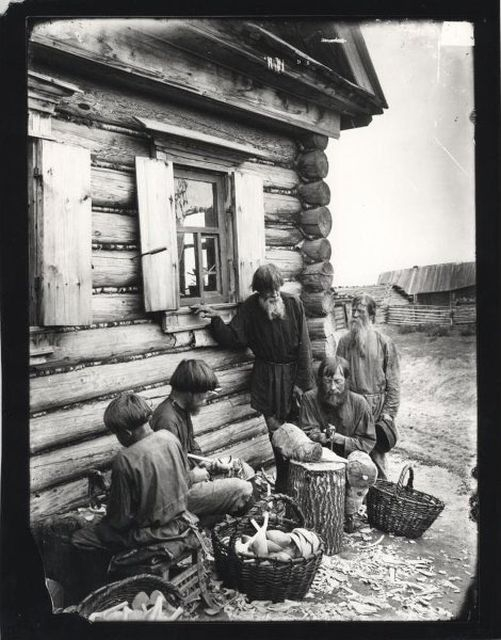 Photos of Peasant Life in Russian Empire
