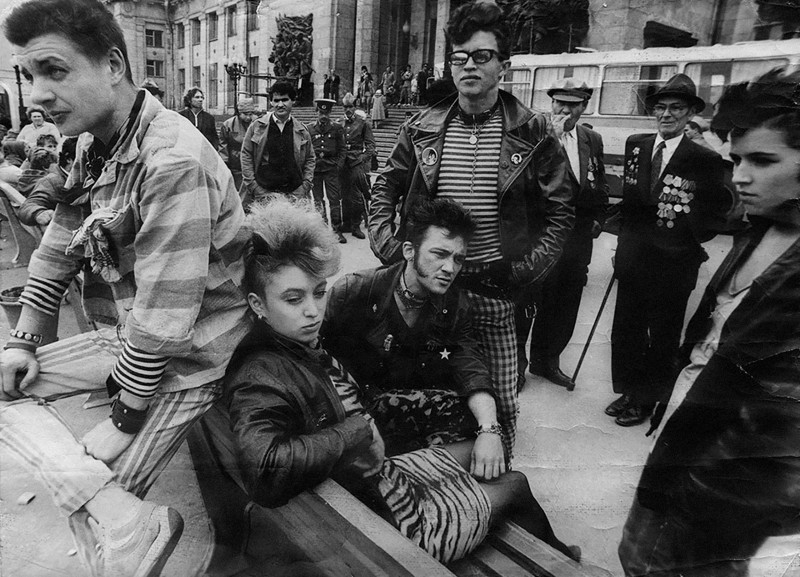 Photos of Soviet Counter Culture Youth