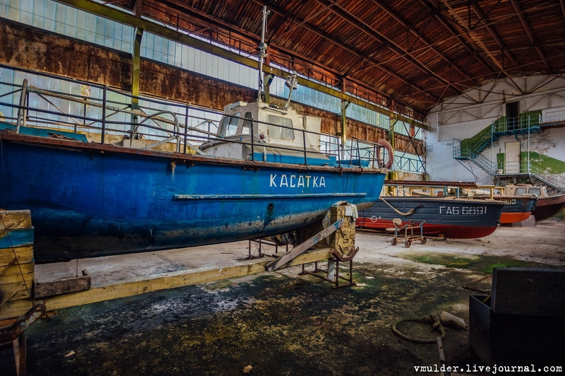 Abandoned Soviet Lab That Researched and Produced Real Torpedoes [photos]