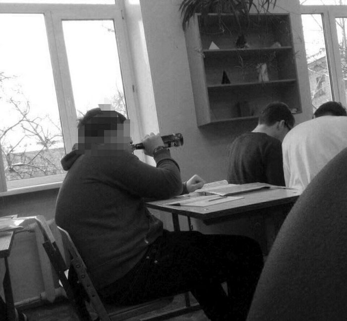 Meanwhile in School