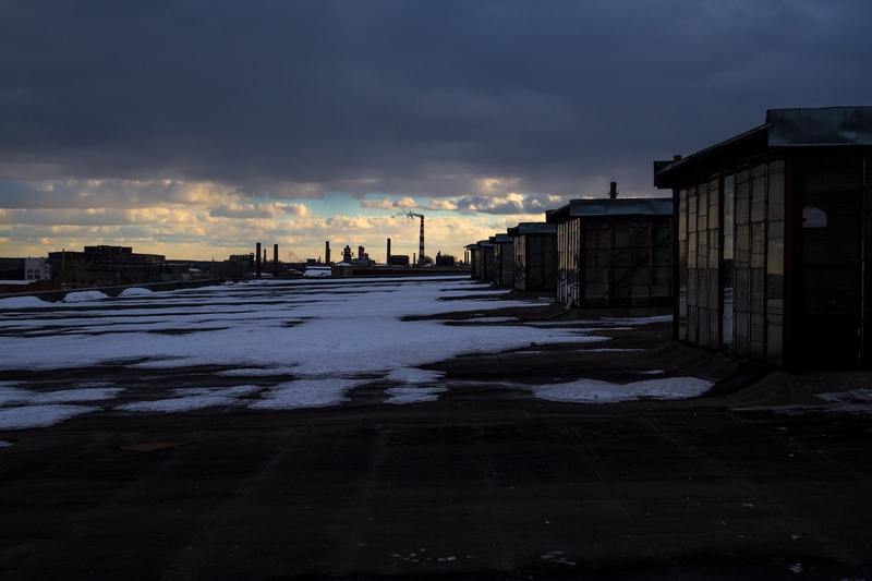 A few photos from Russian abandoned factory