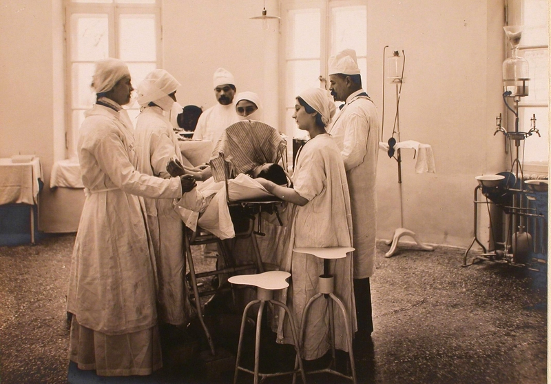 Russian Empire Army Hospital in 1914-1916