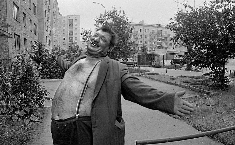 Russia in 1990s on the photos of Sergei Kiselev