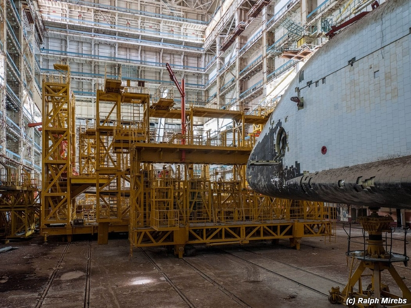 Ruins of Cosmic Civilization: Fully Intact Abandoned Little Known Soviet Space Shuttles on Baikonur Launch Site