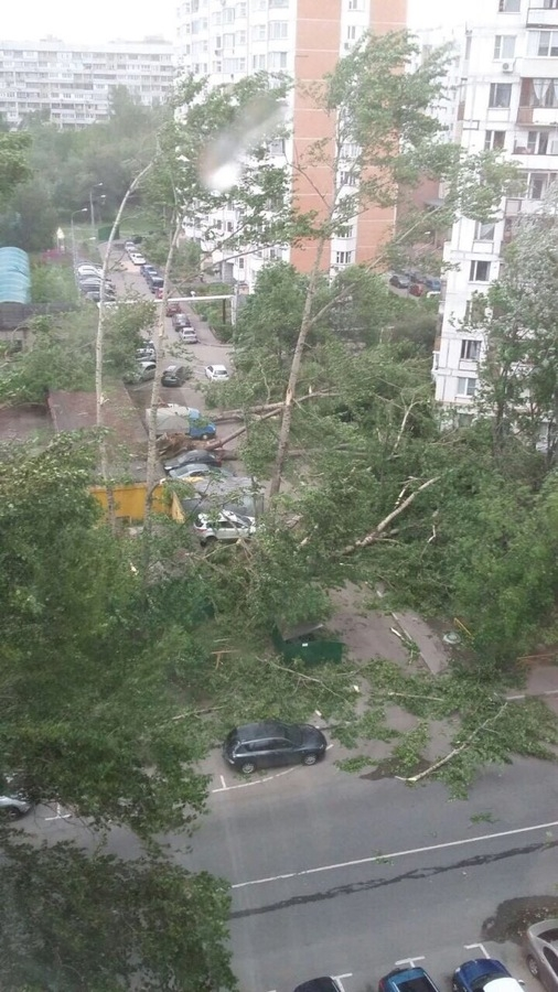 Moscow storm May 29th 2017 compilation of the photos