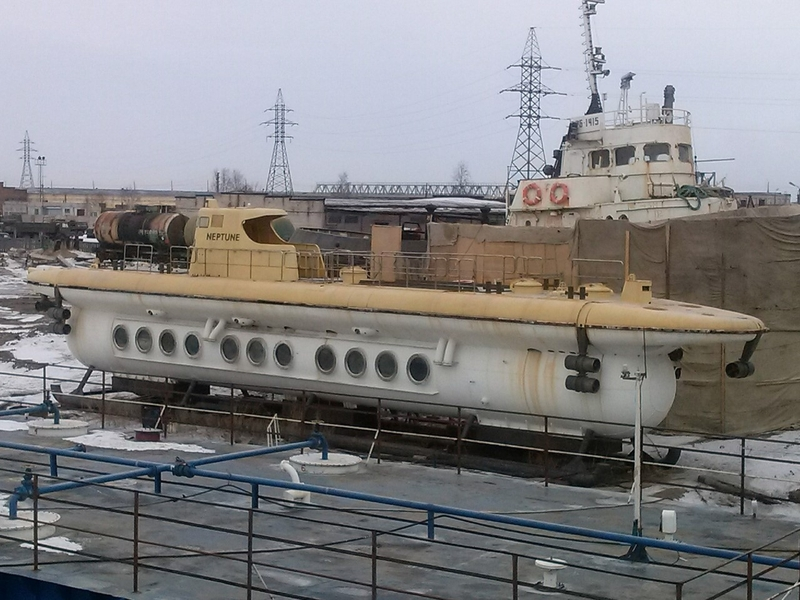Story of a Unique First and Only Soviet Touristic Submarine