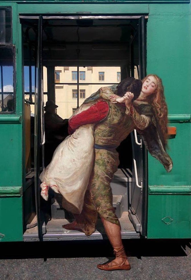 Classical Paintings Heroes Living in Modern Day Russia [photos]
