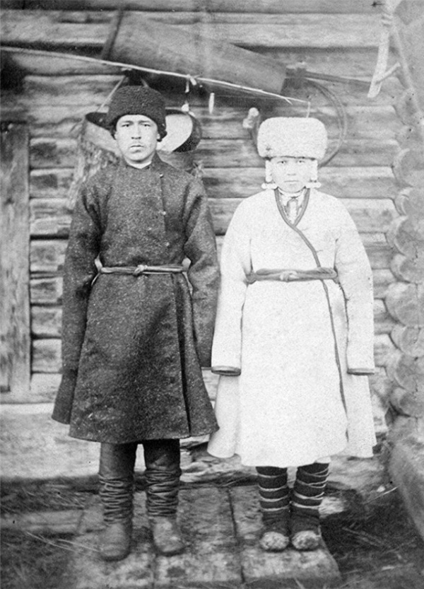 Wedding Photos of Mari People of Russian Empire