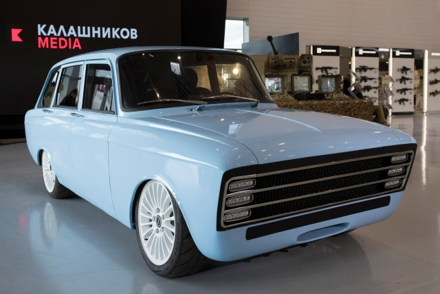 Kalashnikov Company is Going to Make an Electric Car
