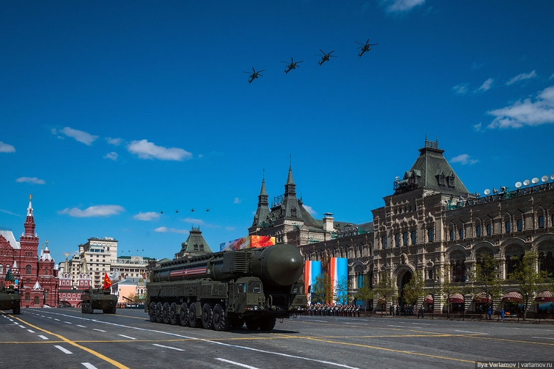 Nice Photos of Russian Military Parade 2017