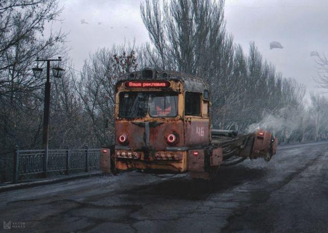 Russian Cyberpunk: Russia 2046