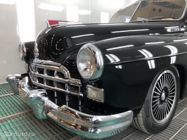 Unique Soviet restored car GAZZ-12 ZIM costs 0k [photos]