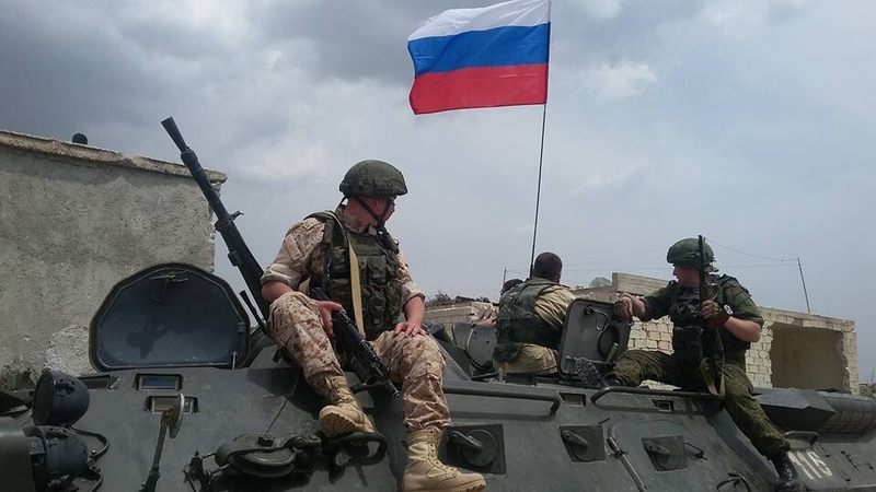 Russian Army in Afrin Canton, Syria