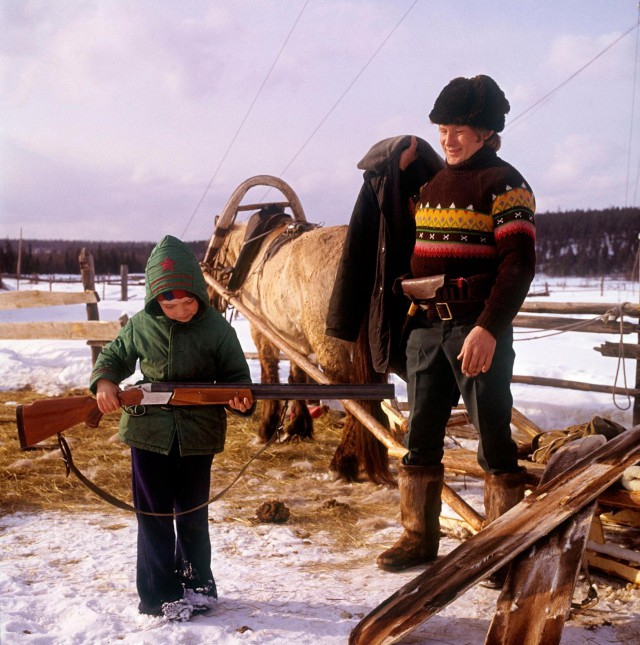 Camping Near the Lena River in the 70s Was Fun