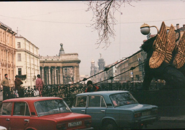 Photos of German Tourist Visiting Russia in 1992