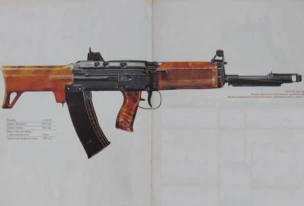 Futuristic Soviet Assault Rifles