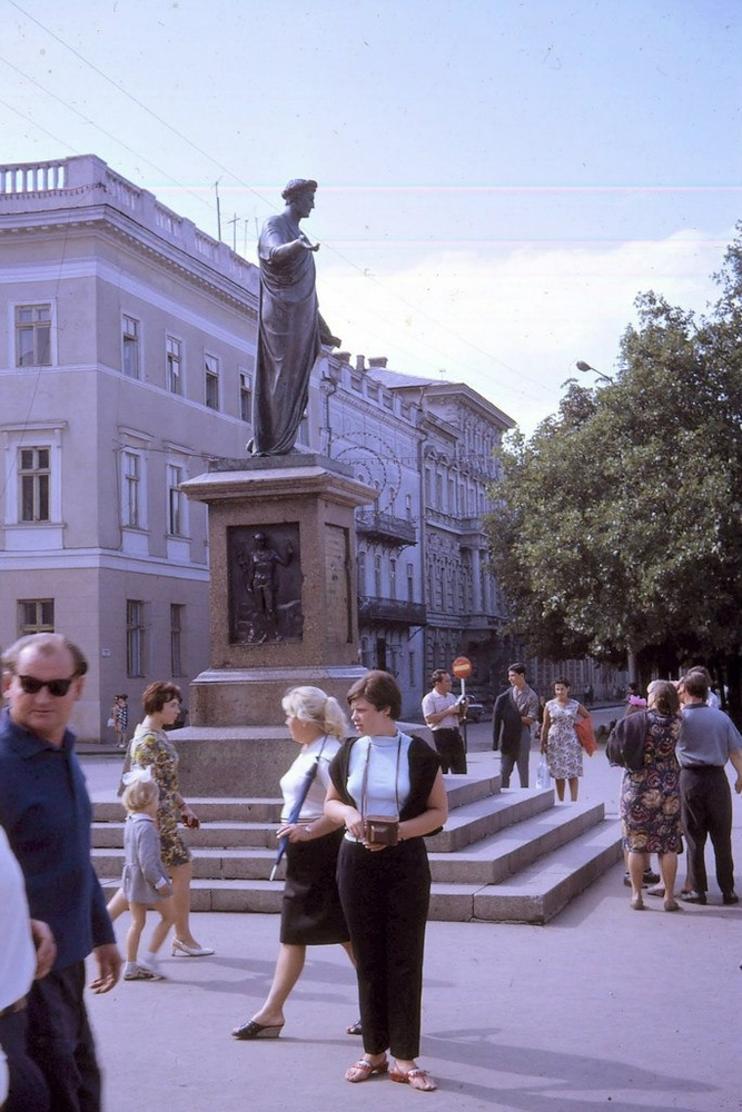 Foreginer visits Kiev and Odessa in 1968