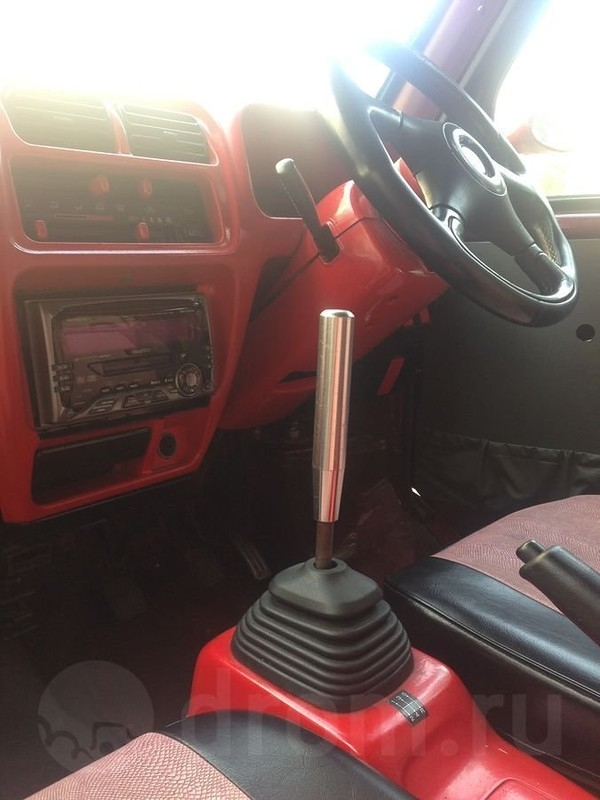Russian Guy Turns his Small Truck into Ferrari Testarossa