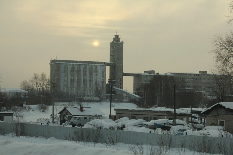 Grain Elevators of Russia