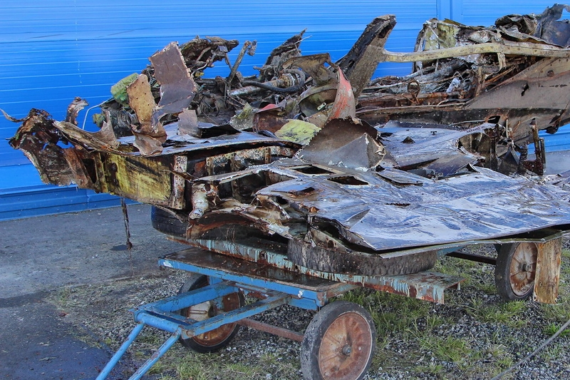 How the Airplane That Spent 72 Years on Lake Bottom Looks Like