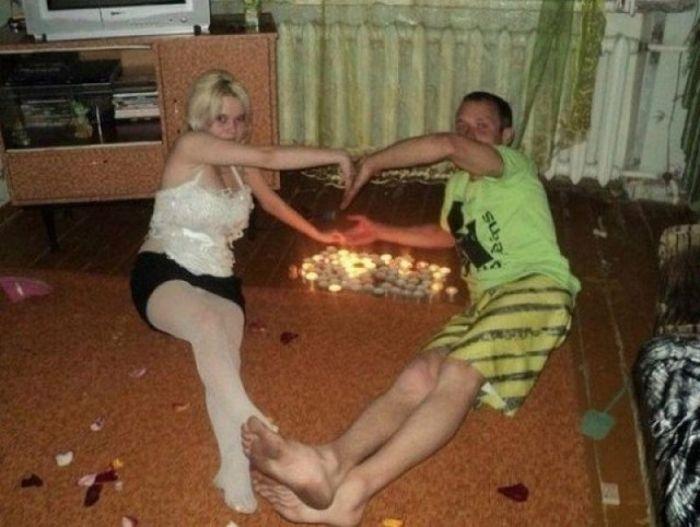нелепые фото сельских девушек