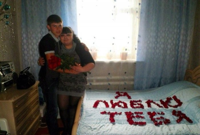 Some photos of Russian romance